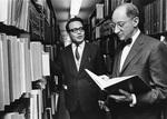 Edward H. Levi and Junjiro Tsubota by Bob Langer