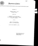 Statement of Honorable Edward H. Levi Attorney General before the Subcommittee on Appropriations for Judiciary, State, Justice, Commerce and Related Agencies of the House Committee on Appropriations. Delivered on February 18, 1976.      1976-02-18