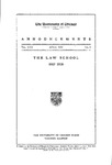 The Law School Announcements 1917-1918 by Law School Announcements Editors