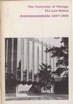 Law School Announcements 1967-1968