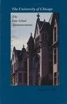 Law School Announcements 1993-1994