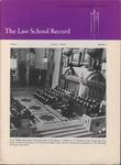 Law School Record, vol. 2 no. 3 (Summer 1953) by Law School Record Editors