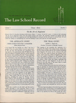 Law School Record, vol. 3, no.2 (Spring 1954)