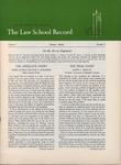 Law School Record, vol. 3, no.2 (Spring 1954) by Law School Record Editors