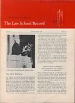 Law School Record, vol. 4, no. 1 (Fall 1954)
