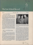 Law School Record, vol. 4. no. 2 (Winter 1955)