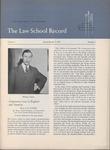 Law School Record, vol. 4. no. 3 (Spring 1955) by Law School Record Editors