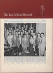 Law School Record, vol. 5, no. 1 (Fall 1955)