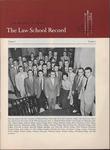 Law School Record, vol. 5, no. 1 (Fall 1955) by Law School Record Editors