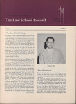 Law School Record, vol. 5, no. 2 (Spring 1956)
