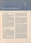 Law School Record, vol. 5, no. 3 (Fall 1956)
