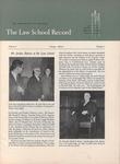 Law School Record, vol. 6, no. 2 (Spring 1957) by Law School Record Editors
