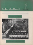 Law School Record, vol. 7, no. 1 (Fall 1957)