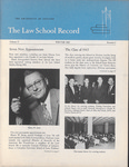 Law School Record, vol. 11, no. 1 (Winter 1963) by Law School Record Editors
