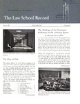 Law School Record, vol. 12, no. 1 (Fall 1963)