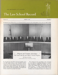 Law School Record, vol. 12, no. 2 (Spring 1964) by Law School Record Editors