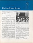 Law School Record, vol. 13. no. 1 (Winter 1965) by Law School Record Editors