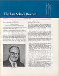 Law School Record, vol. 14, no. 2 (Autumn 1966) by Law School Record Editors