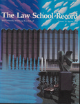 Law School Record, vol. 35, no. 1 (Spring 1989)