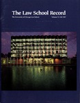 Law School Record, vol. 33, no. 2 (Fall 1987)