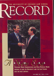 Law School Record, vol. 40, no. 2 (Fall 1994)