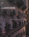 Law School Record, vol. 47, no. 1 (Fall 2000)