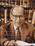 Law School Record, vol. 53, no. 2 (Spring 2007) by Law School Record Editors