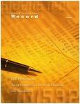 Law School Record, vol. 54, no. 1 (Fall 2007)