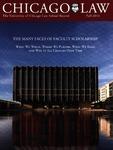 Law School Record, vol. 61, no. 1 (Fall 2014) by Law School Record Editors