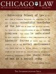 Law School Record, vol. 60, no. 2 (Spring 2014) by Law School Record Editors